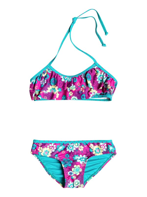 0 Girls 2-6 Sweet Floral Flutter Bikini  RRH58516 Roxy