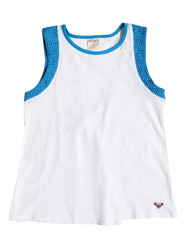 0 Girl's 7-14 Cove Muscle Open Back Tank  RRM51047 Roxy