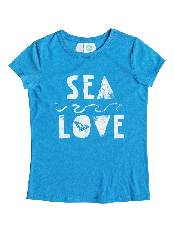 0 Girl's 7-14 Sea Love Tee  RRM51427 Roxy