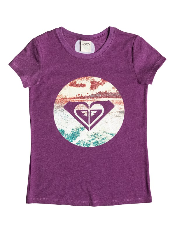 0 Girl's 7-14 Sunsets Tee  RRM51437 Roxy