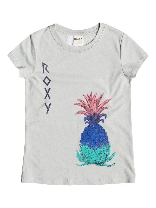 0 Girl's 7-14 Pineapple Art Tee  RRM51477 Roxy