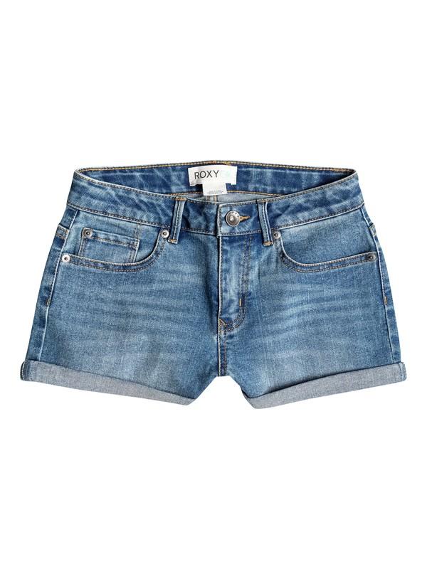0 Girl's 7-14 CRUSH Shorts  RRM55027 Roxy