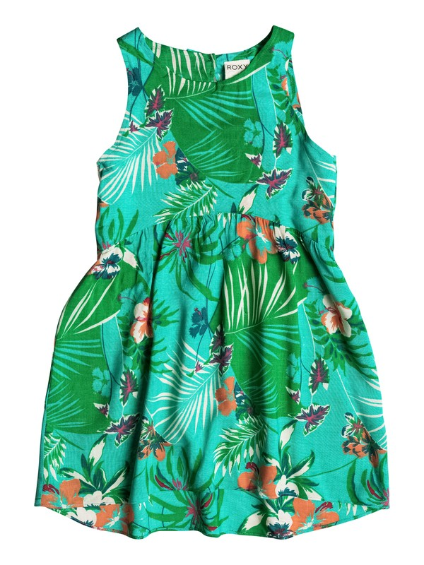 0 Girl's 2-6 Over Seas Dress  RRM58146 Roxy