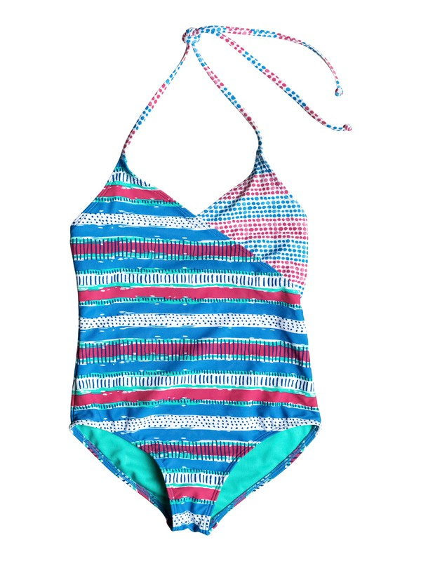 0 Girl's 7-14 All Mixed Up One Piece Swimsuit  RRM58537 Roxy