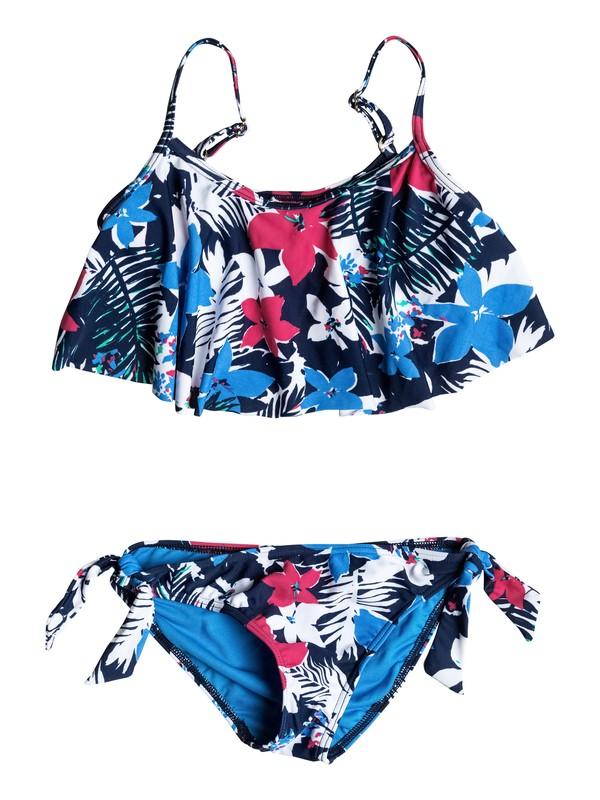 0 Girl's 2-6 Paradise Bound Flutter Bikini Set  RRM58686 Roxy