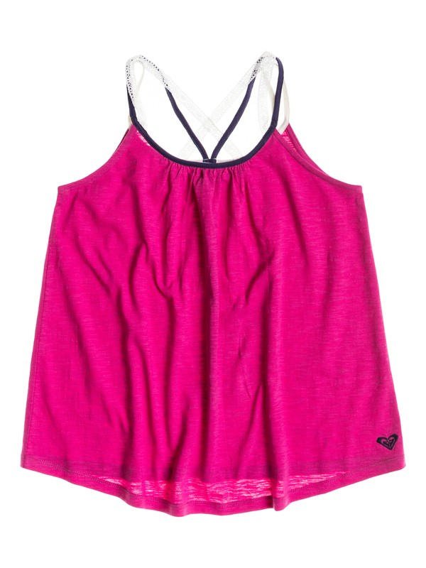 0 Girl's 7-14 Sea Bank Top  RRS51457 Roxy