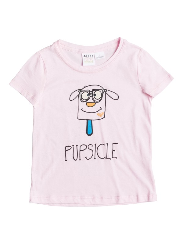 0 Girl's 2-6 Pupsicle Tee  RRS51556 Roxy