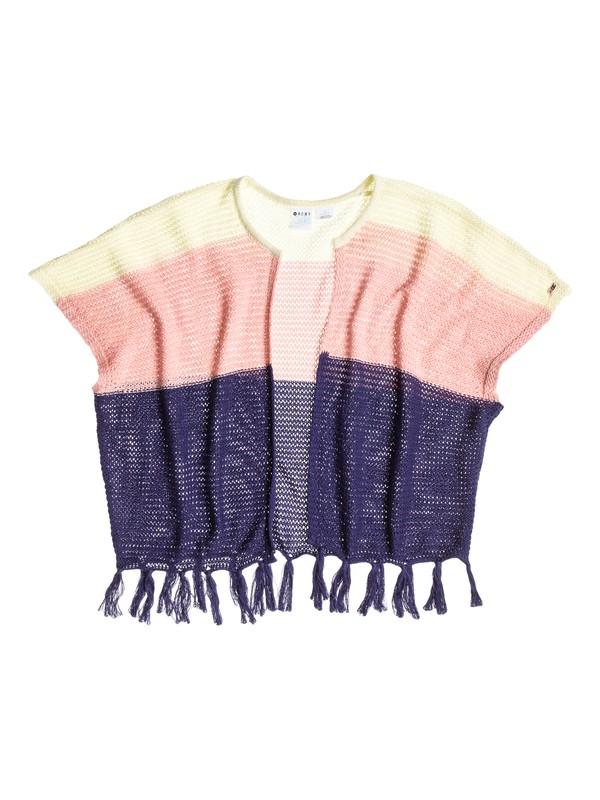 0 Girl's 7-14 Sunshine Colorblock Poncho  RRS56037 Roxy