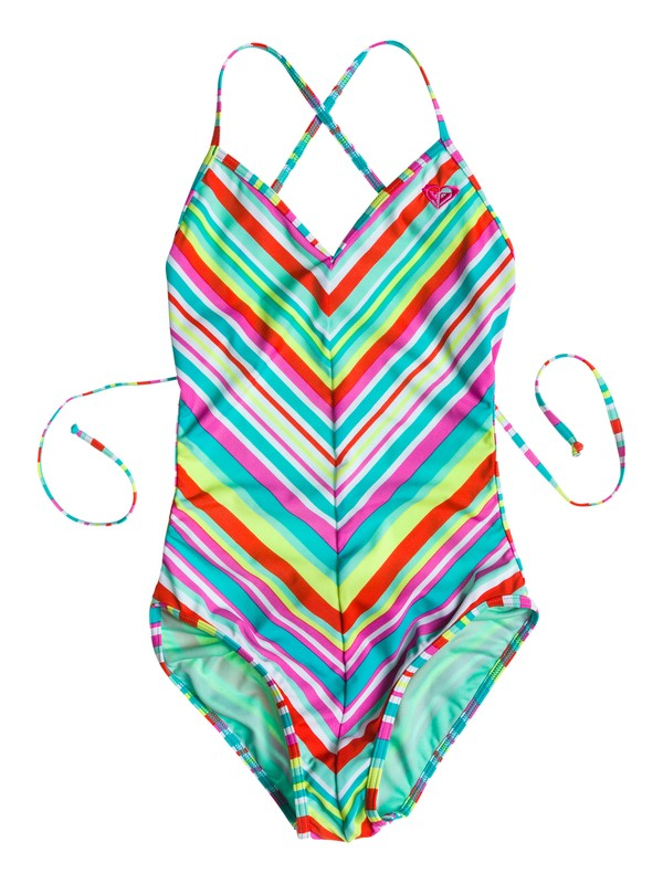 0 Girl's 7-14 Surf's Up Onepiece  RRS58547 Roxy