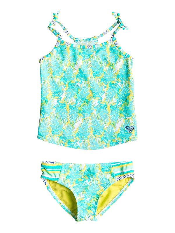 0 Girl's 2-6 Palm Palm Tankini  RRS58726 Roxy