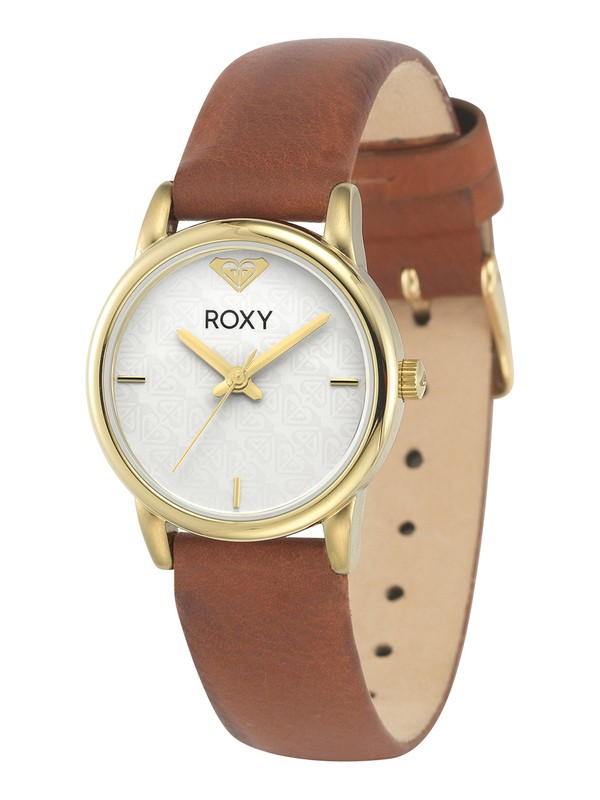 0 The Huntington Leather Watch  RX1020 Roxy