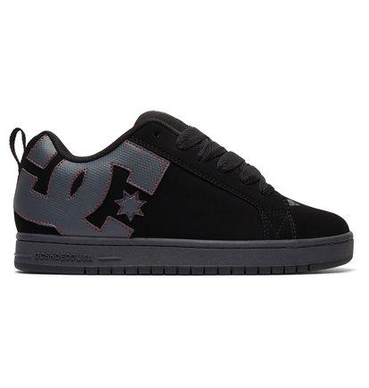 Court graffik chaussures noir dc shoes