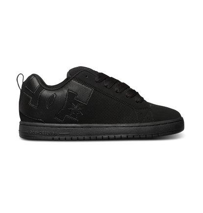 Court graffik chaussures bleu dc shoes