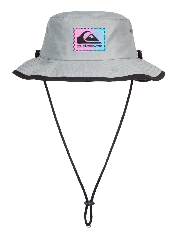 6eef3d8157ddca Details about Quiksilver™ Neck Shadow - Bucket Hat - Boys 2-7 - ONE SIZE -  Grey