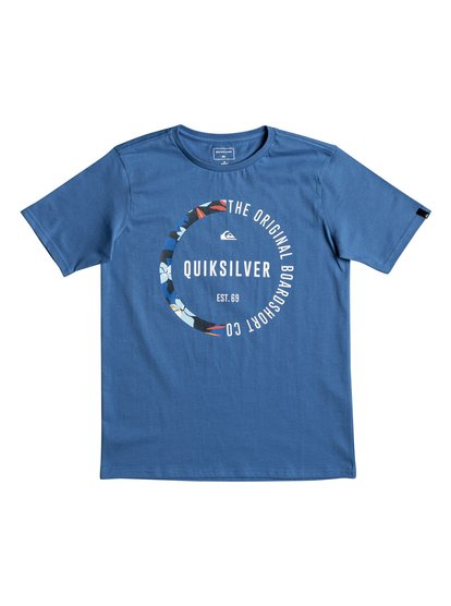 Classic revenge <strong>t</strong> shirt col rond pour garçon bleu quiksilver