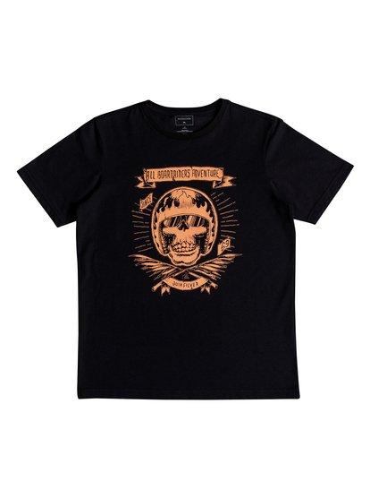 Classic makau ola <strong>t</strong> shirt col rond pour garçon noir quiksilver