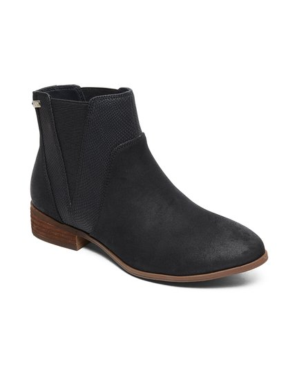 Linn - Mid-Heel Boots for Women - Black - Roxy