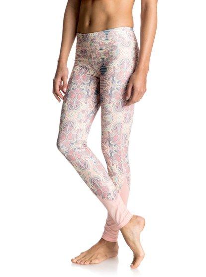 Штаны для занятий йогой Imanee Printed Roxy