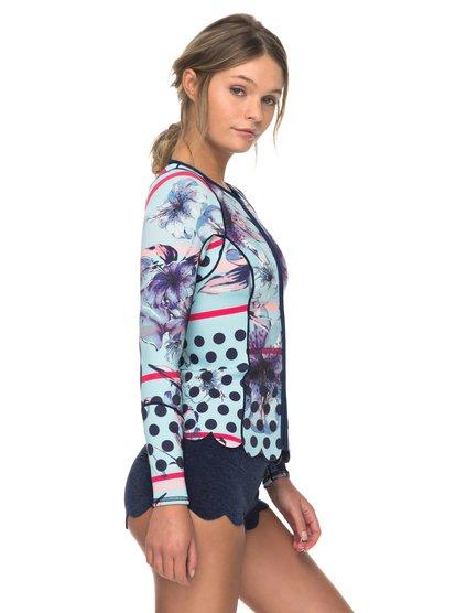 Неопреновая куртка с молнией на груди 1mm Pop Surf Scallop Roxy